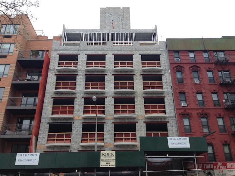 318 east 112th street construction east harlem 42015