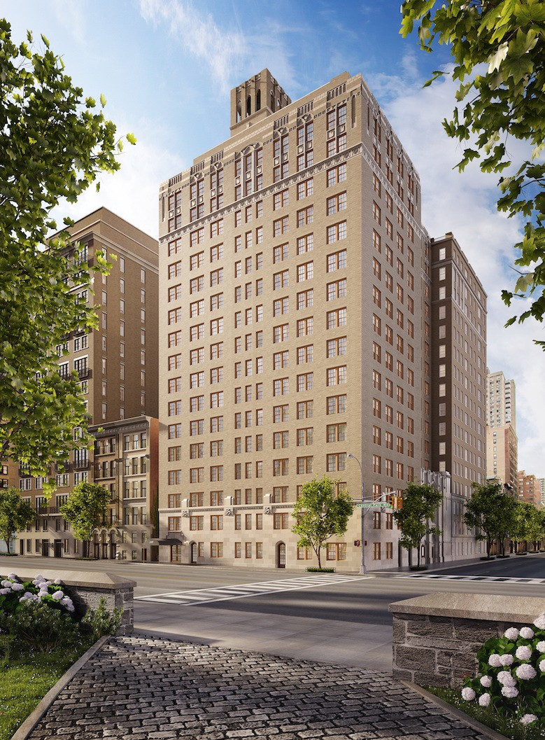 360 central park west rendering cetraruddy