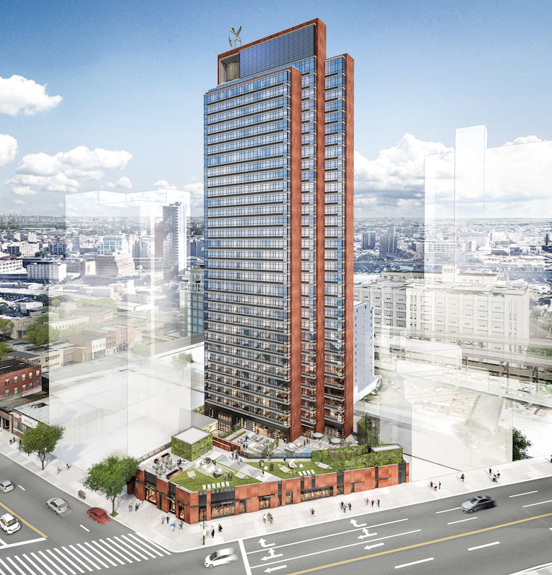 Long Island City Ny: Topping-Out Imminent At 44-26 Purves Street, Long Island