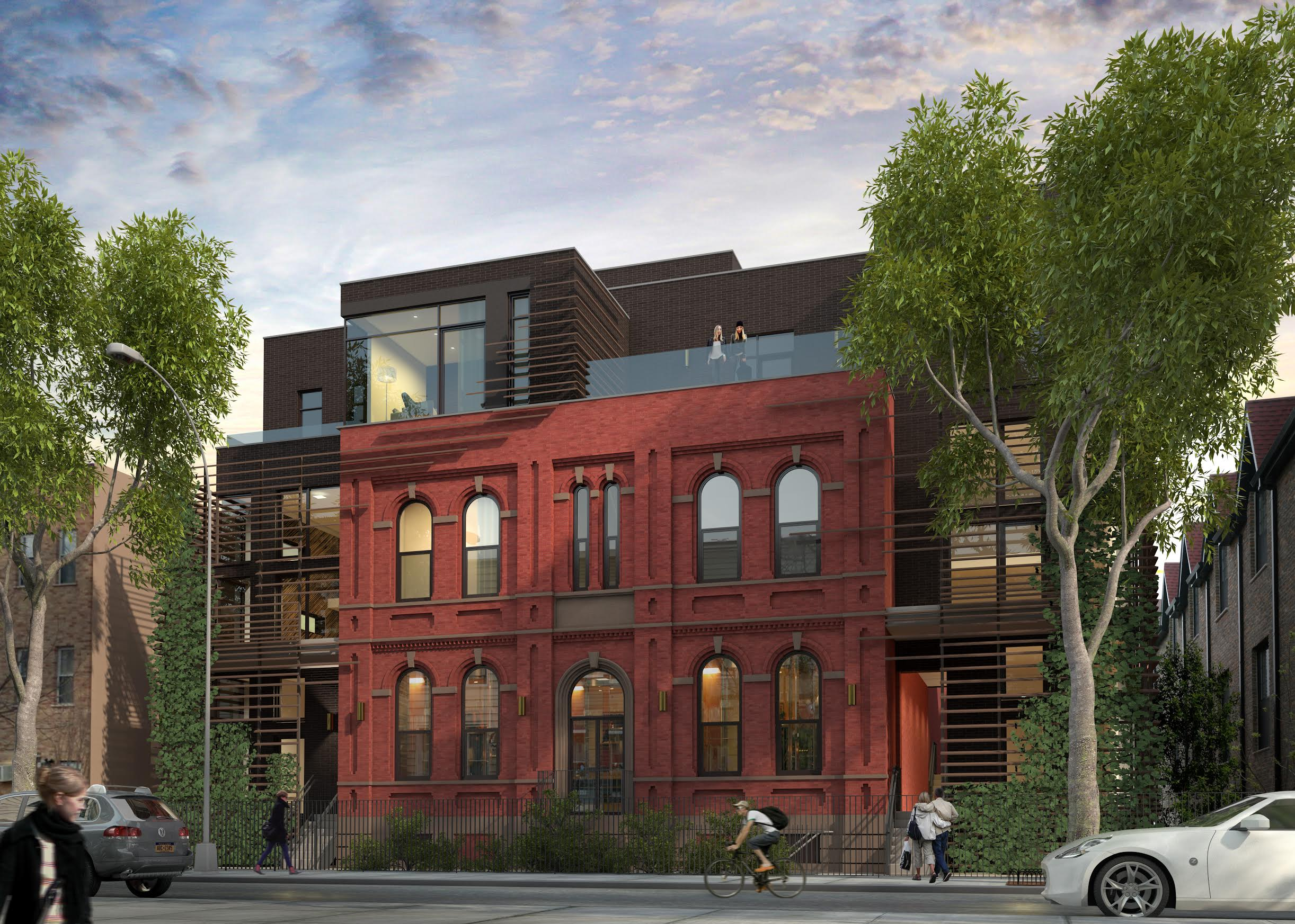 533 leonard street greenpoint conversion rendering