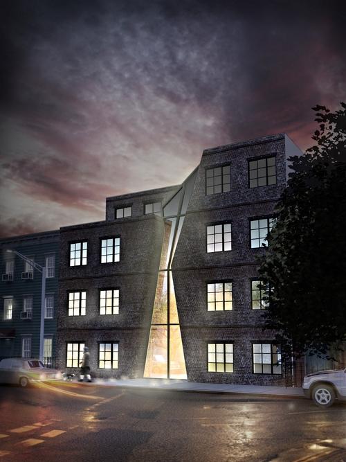 555 graham avenue night rendering 2