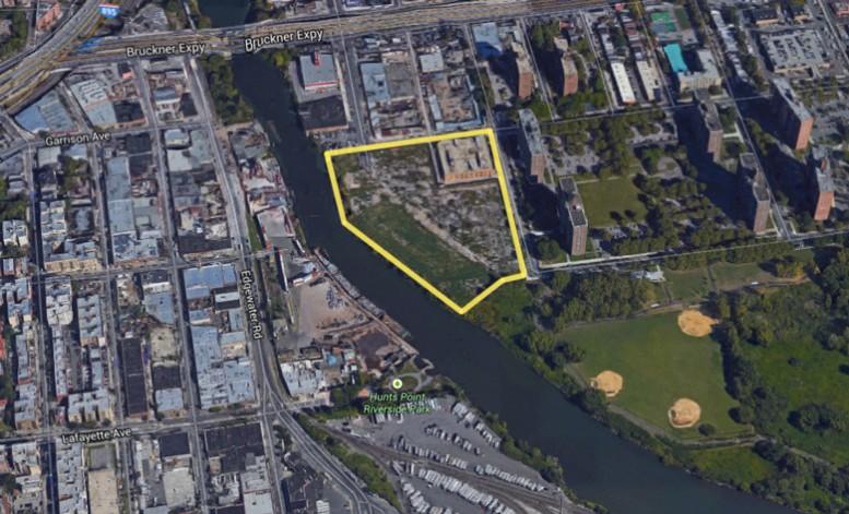 1410 Story Avenue and 810 Colgate Avenue, image via Google Maps