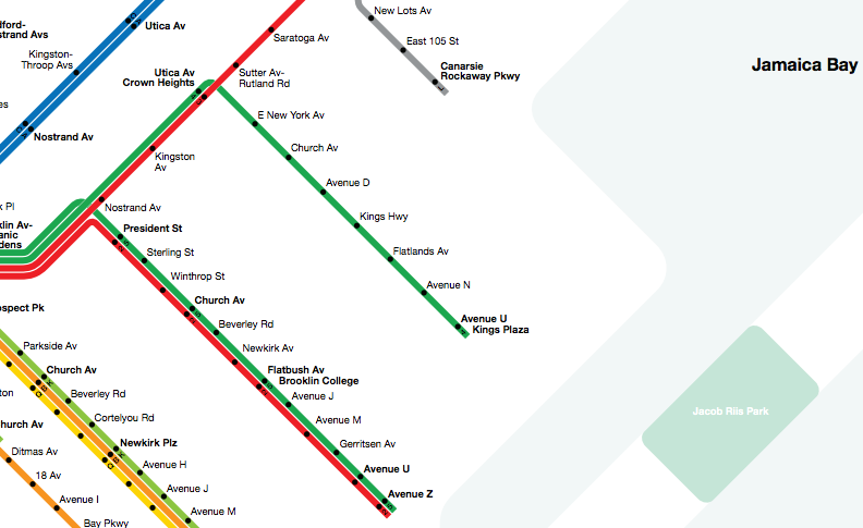Utica Ave Station Subway Map.Why Brooklyn Needs The Utica Avenue Subway Extension New York Yimby