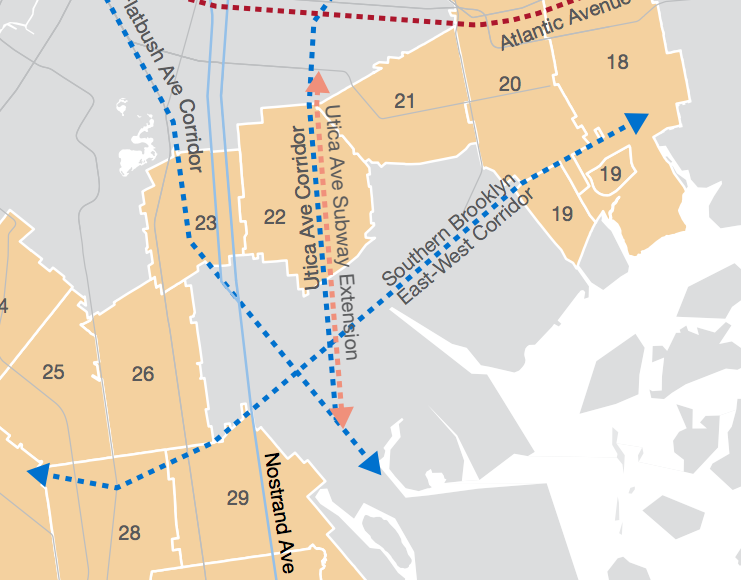 utica avenue subway extension