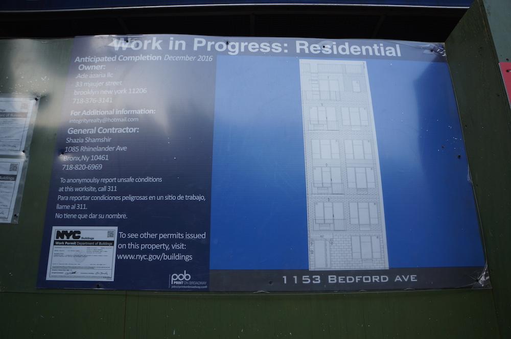 1153 bedford avenue construction rendering