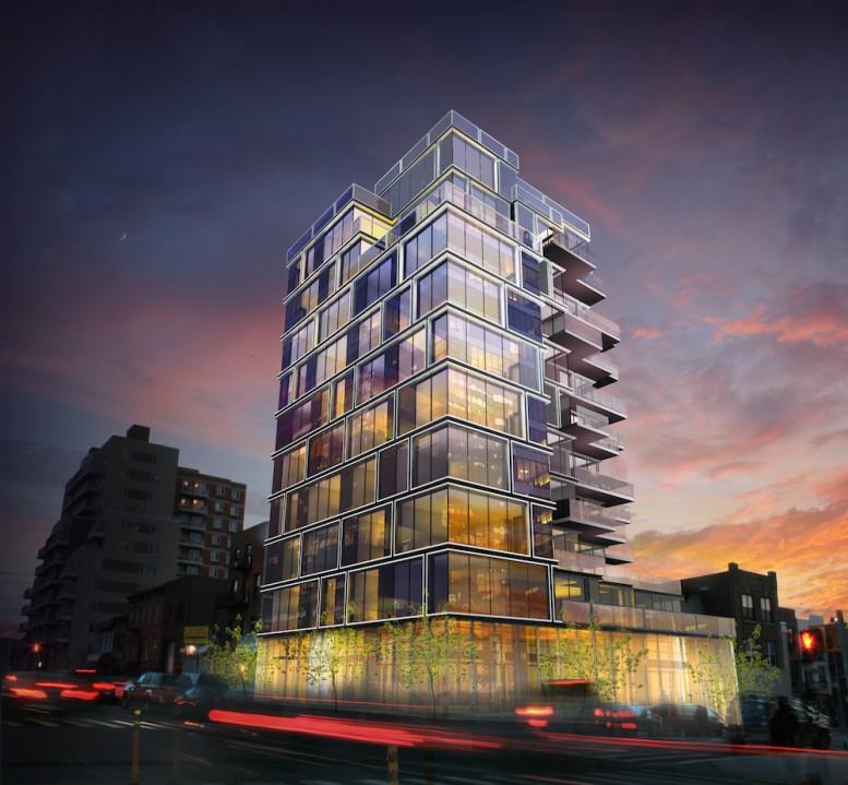 550 4th Avenue, rendering by RoArt