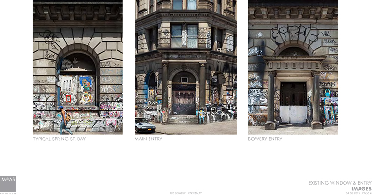 Current images of 190 Bowery