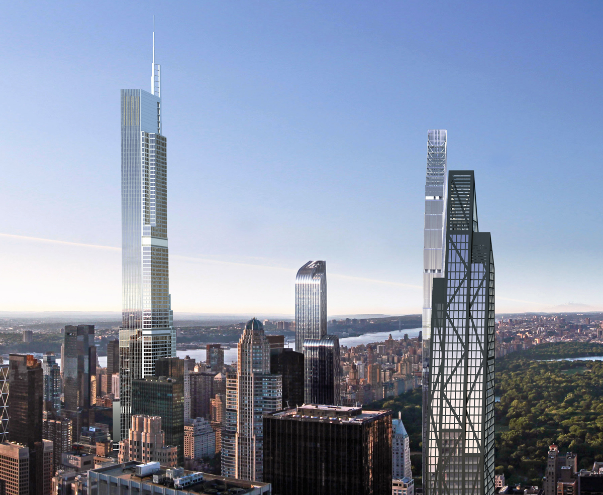Diagrams Show Nordstrom Tower 217 West 57th Street Will Stand 1 795 Feet Tall Becoming New York