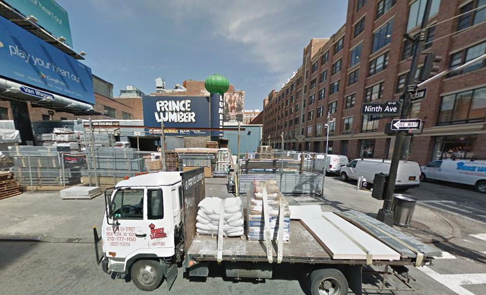 61 ninth avenue chelsea gmaps