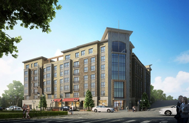 Seven-Story, 140-Unit Mixed-Use Building Going Vertical At