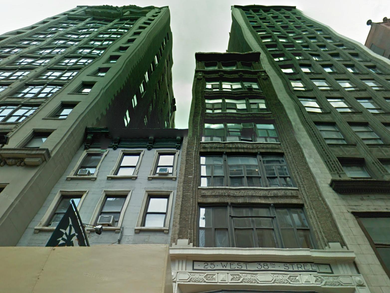25 West 38th Street