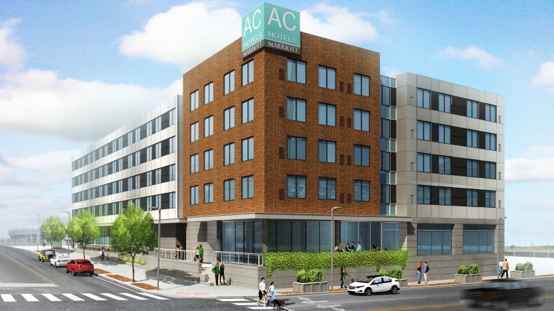 Harrison Ac Hotel Rendering Via Advance Realty