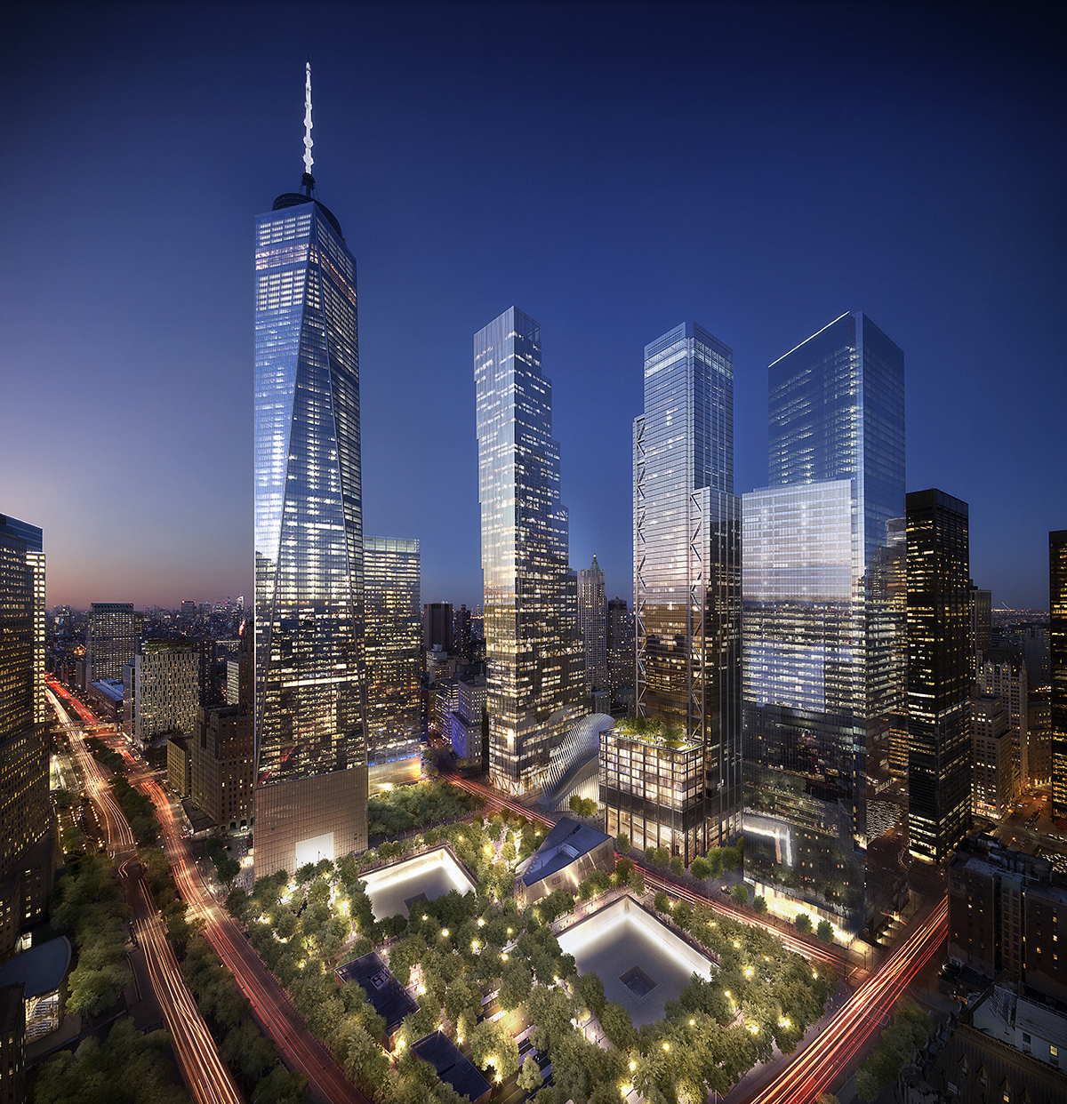 Two World Trade Center, image from Silverstein Properties