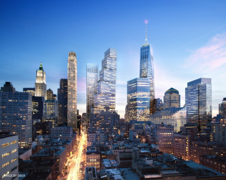 The new World Trade Center, image from Silverstein Properties