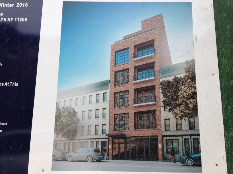 730 franklin avenue construction rendering