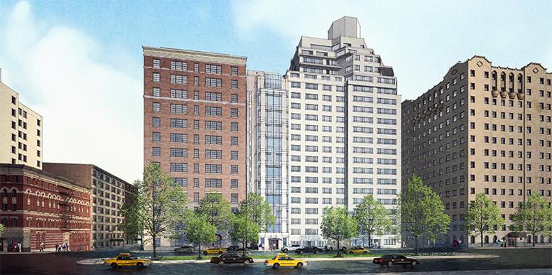 Previous proposal for 807 Park Avenue