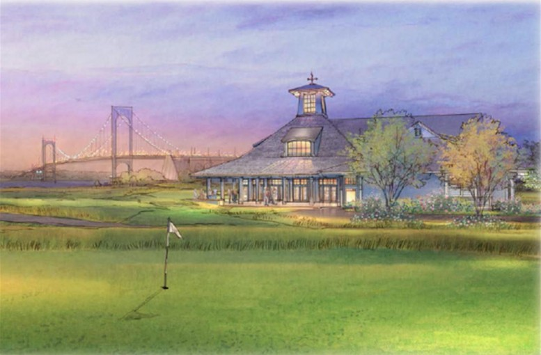 Clubhouse At Ferry Point Park