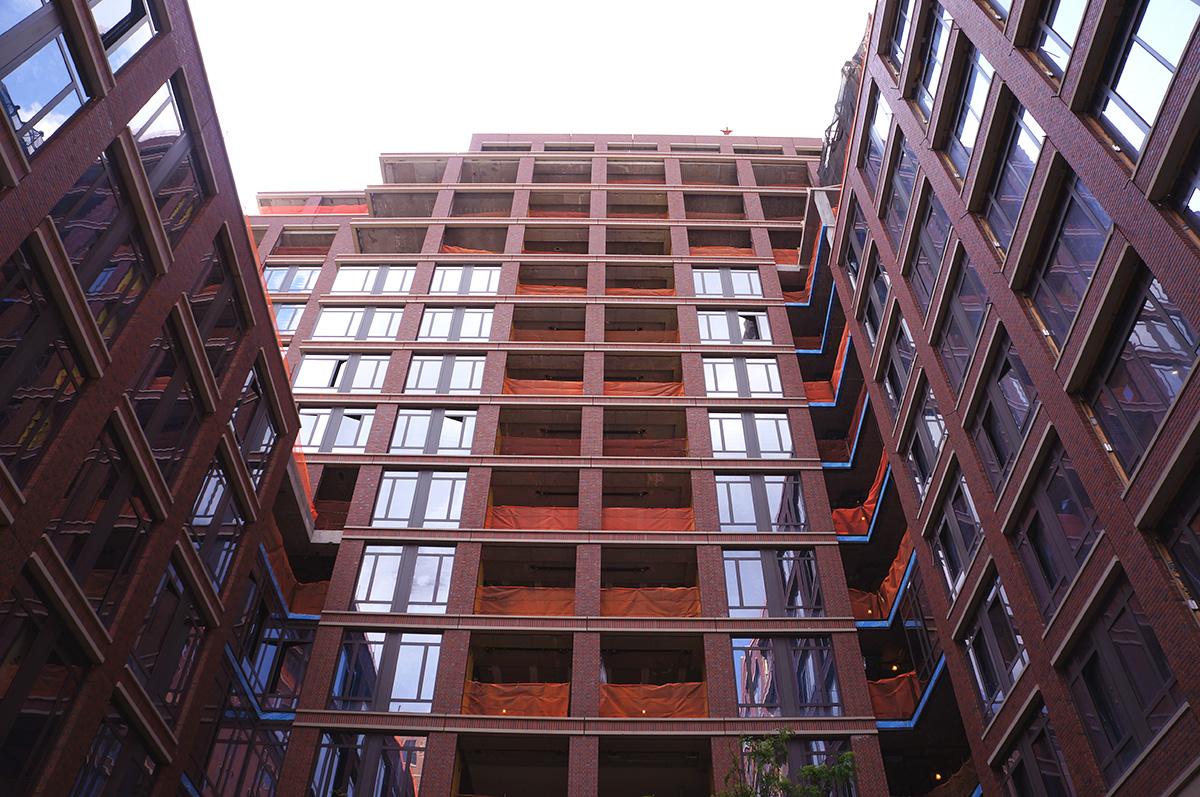 greenwich lane courtyard view 2