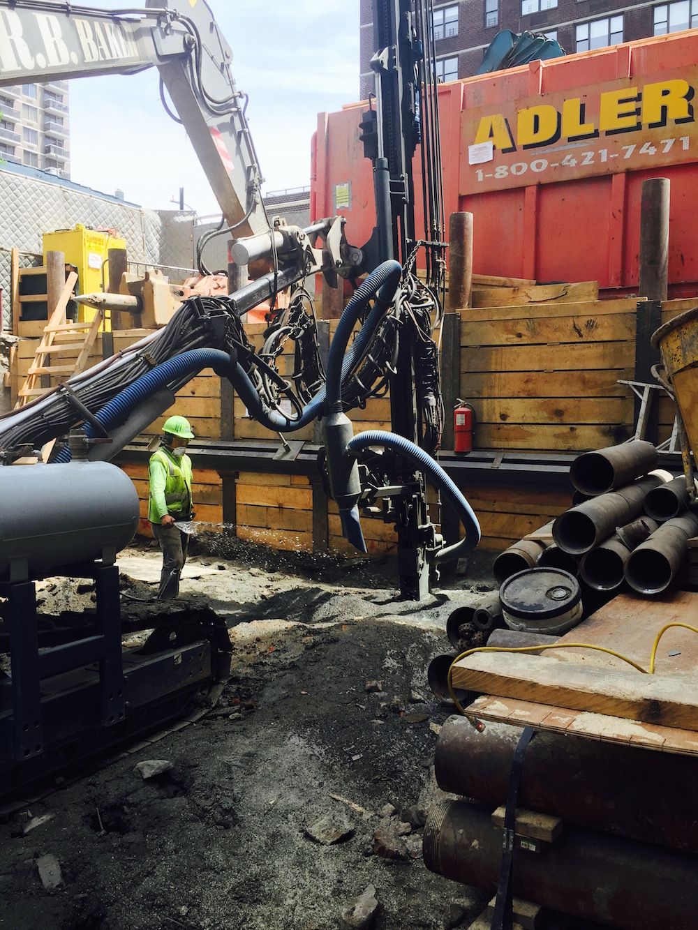 180 East 88th Street construction, photo via DDG
