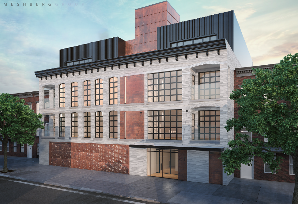 21 Powers Street, rendering by Meshberg Group