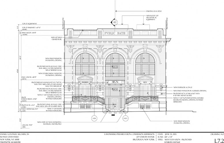 Plan for 227 Fourth Avenue