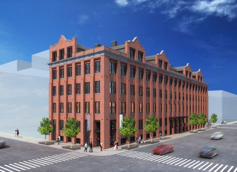 28 Roebling Street, rendering by Michael Muroff Architect