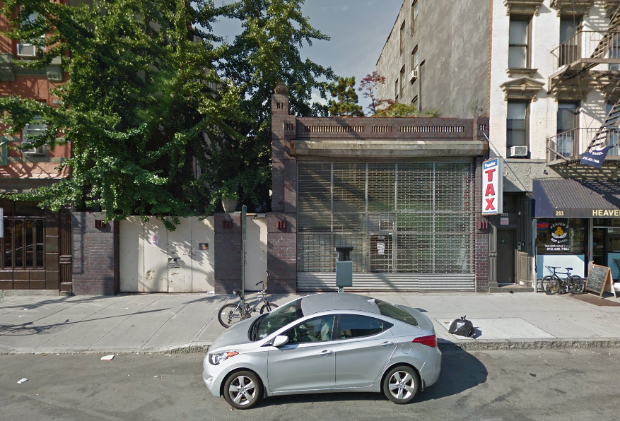 287 East Houston Street, image via Google Maps