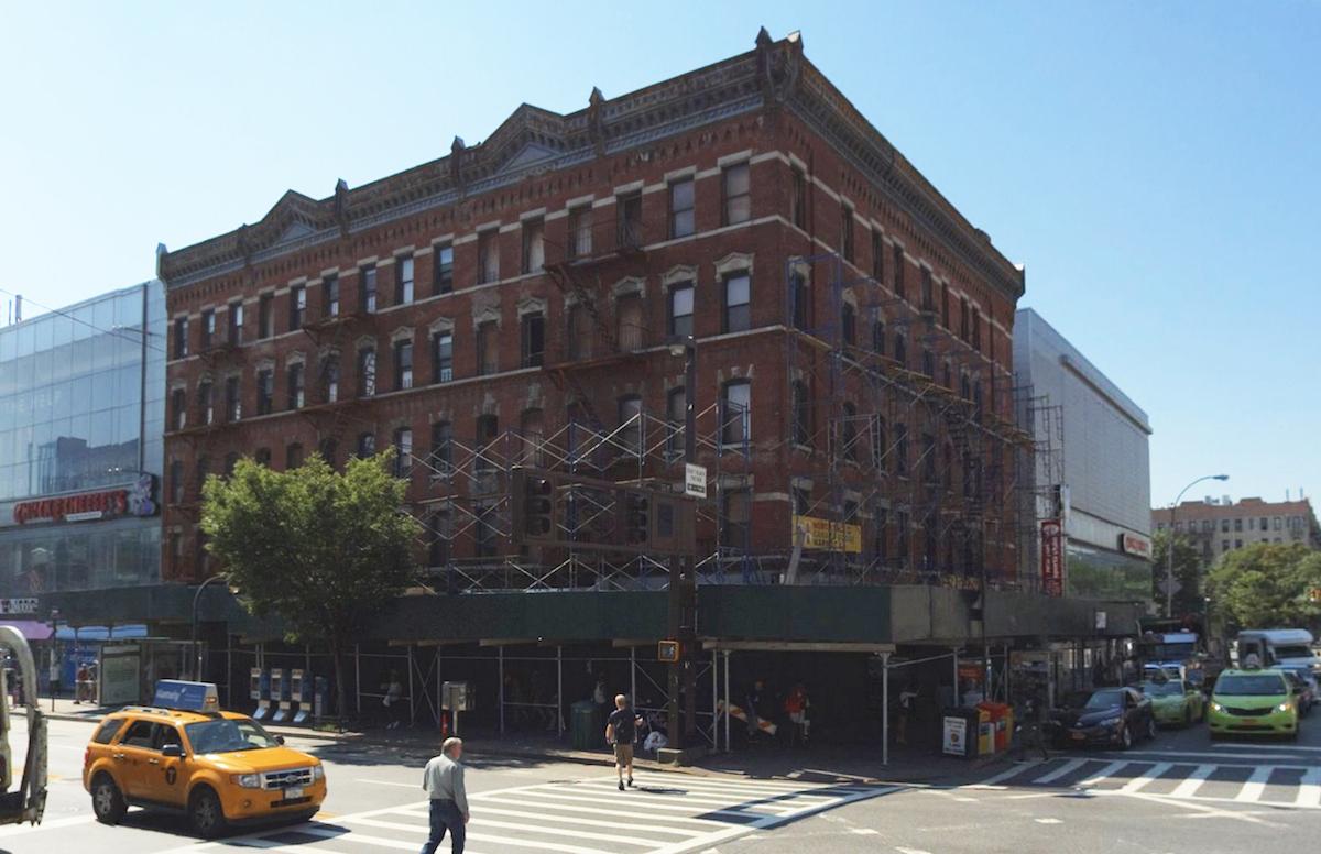 Pre-demolition 324 West 125th Street, photo by Gambino & LaPorta Architecture