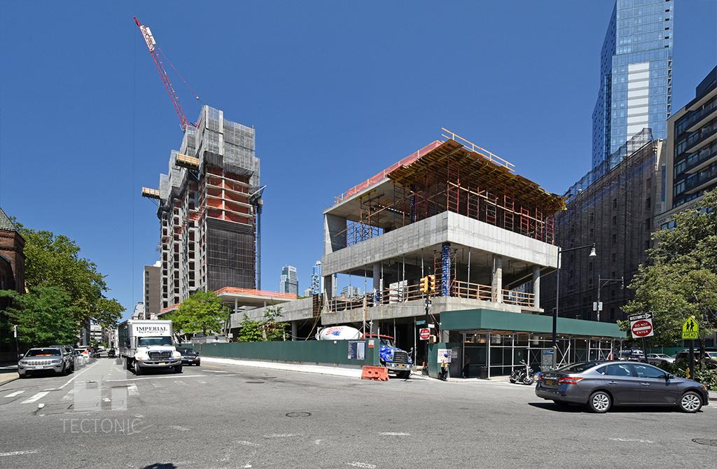 Constuction Update The Hub At 333 Schermerhorn Street Downtown Brooklyn New York Yimby