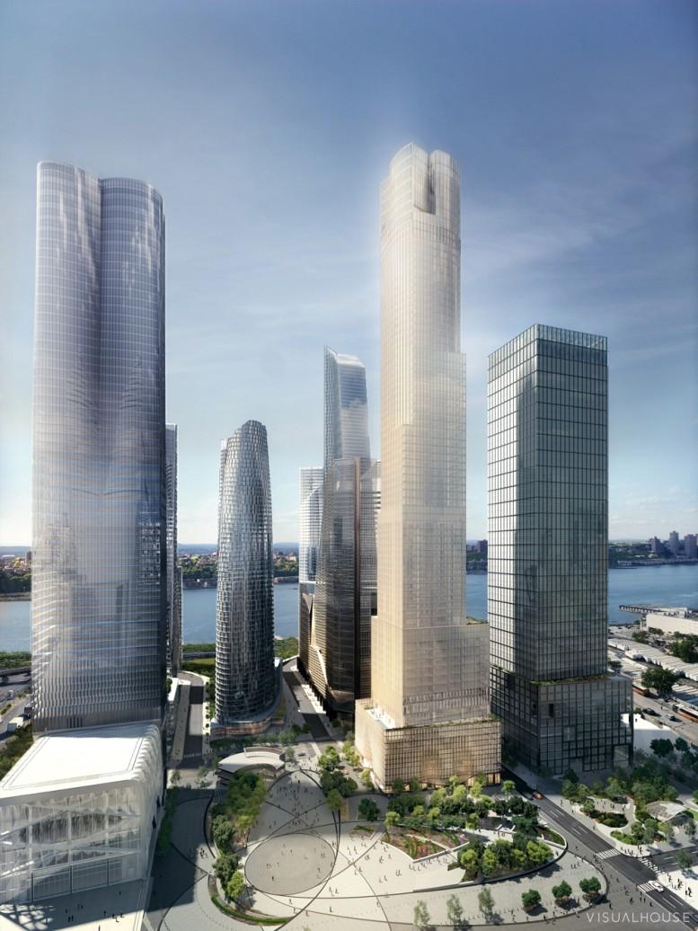 35 Hudson Yards, image by Visualhouse