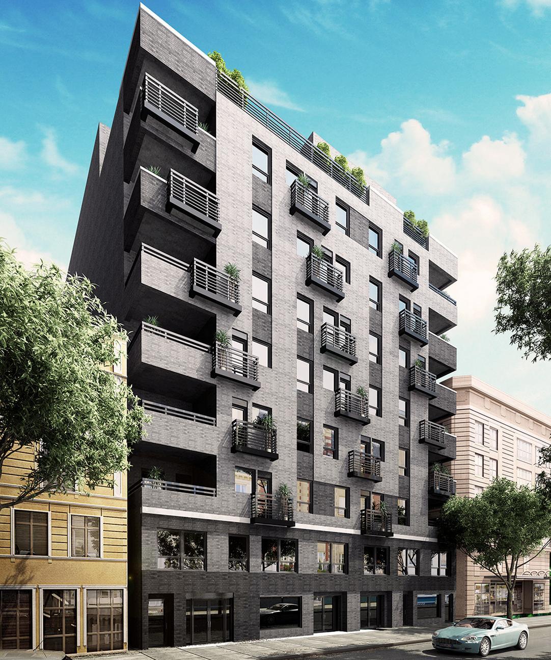 Nine-Story, 44-Unit Building Revealed At 802 Myrtle Avenue