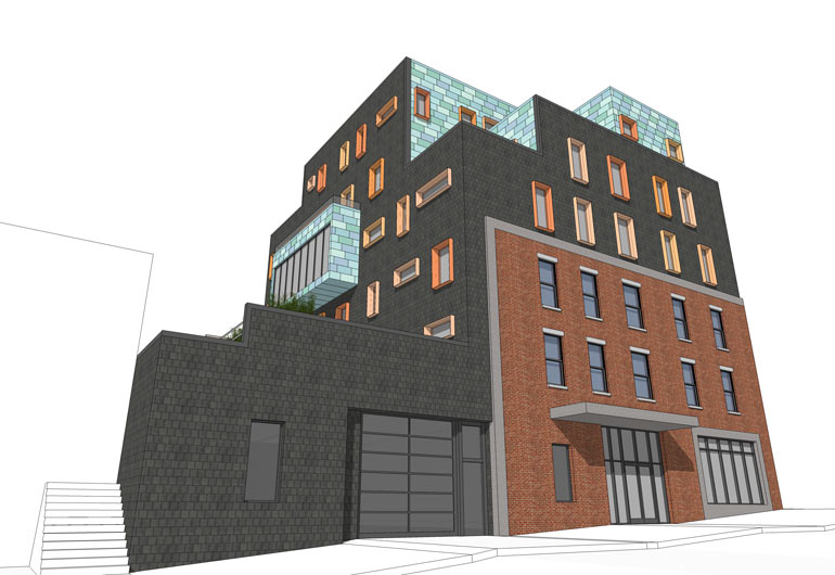 626 5th Avenue, rendering by Tom Winter Architects
