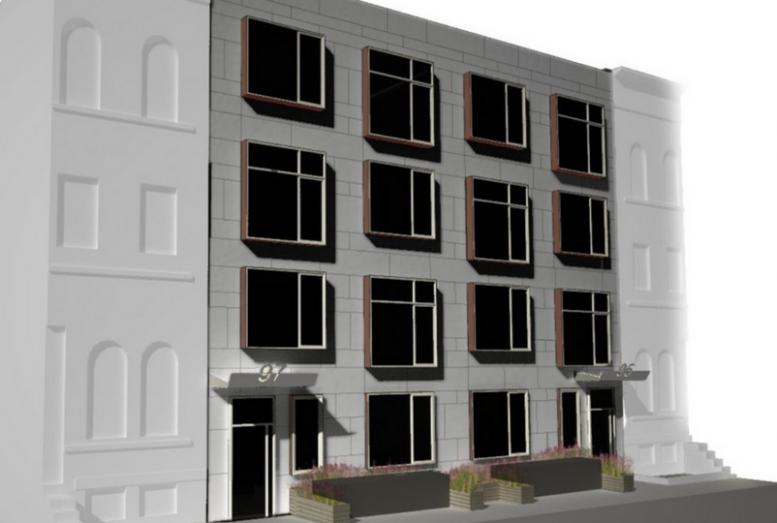 95-97 Grattan Street, rendering by Method Design