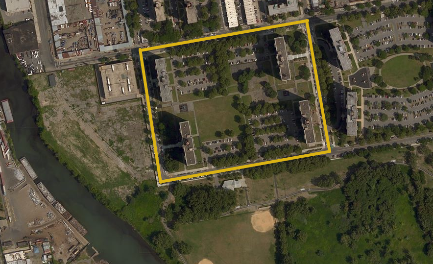 Lafayette Boynton in Soundview, image via Bing Maps