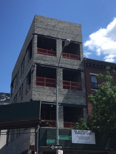 136 Alexander Avenue, photo via JCAL Development