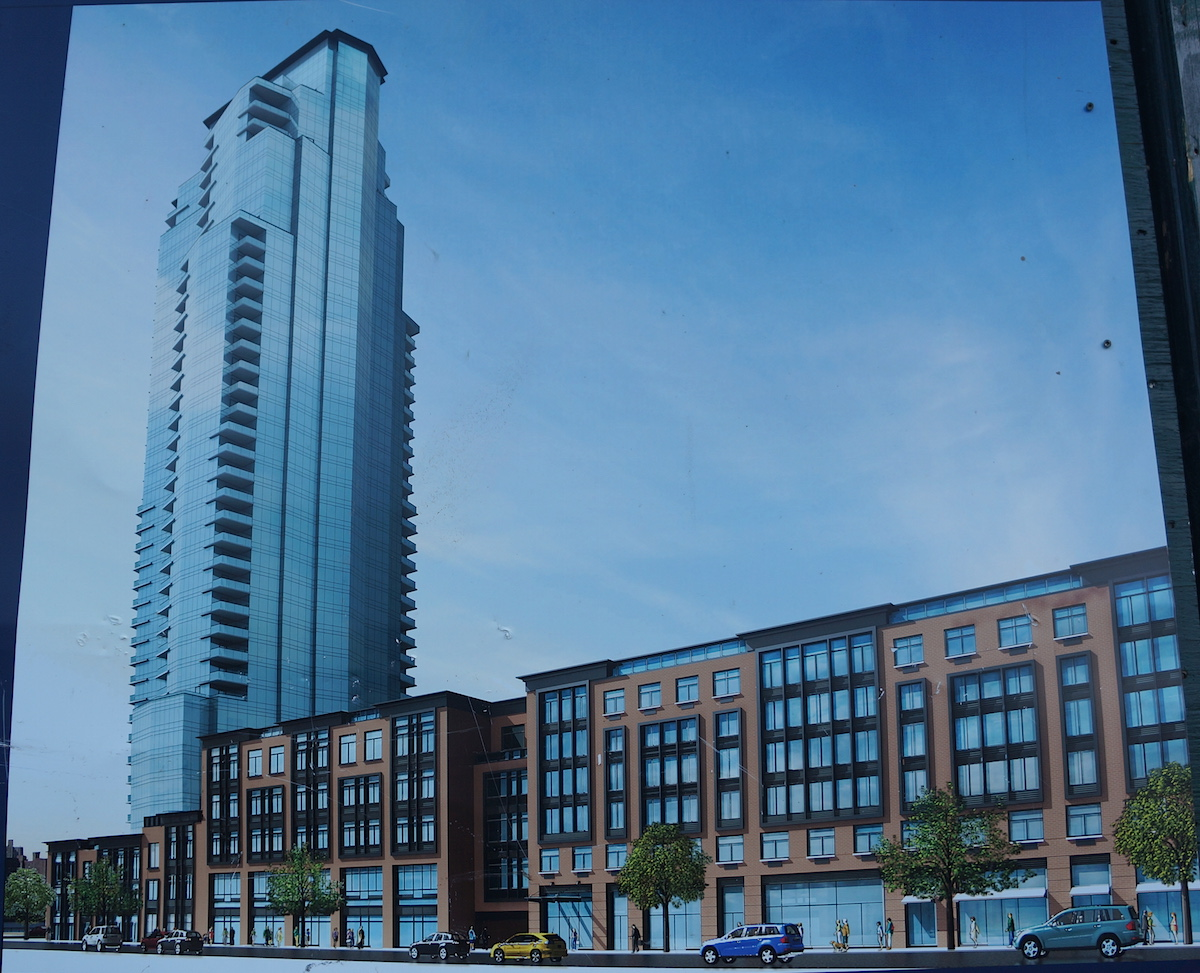 Construction rendering for 10 Huron Street, or 145-155 West Street