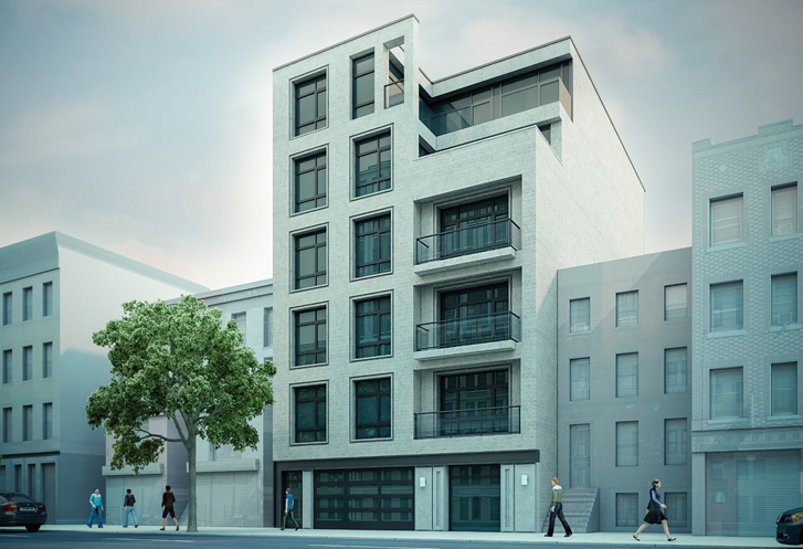 157 Tompkins Avenue, rendering by Issac and Stern