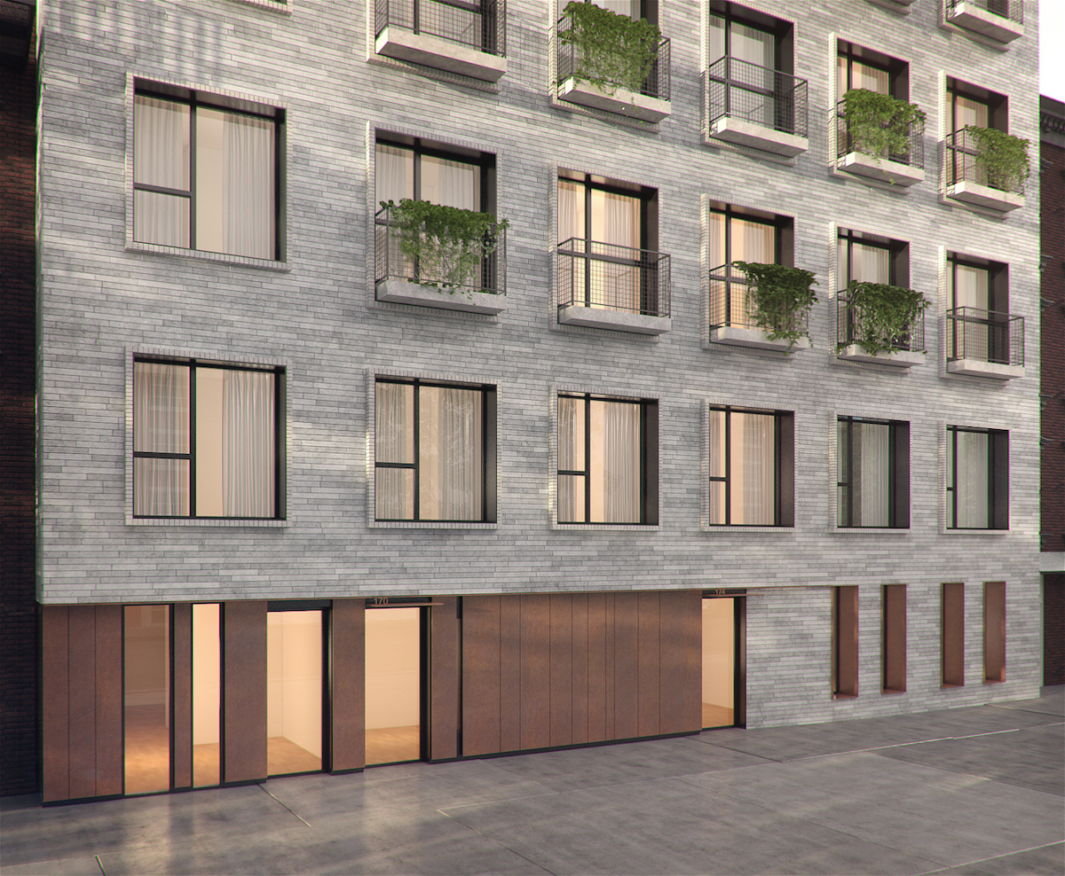 170-174 West Street, rendering by StudiosC