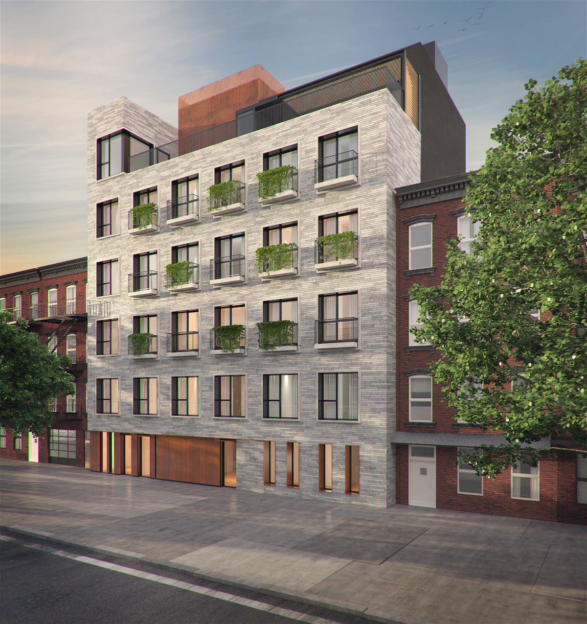 170-174 West Street, rendering by StudiosC