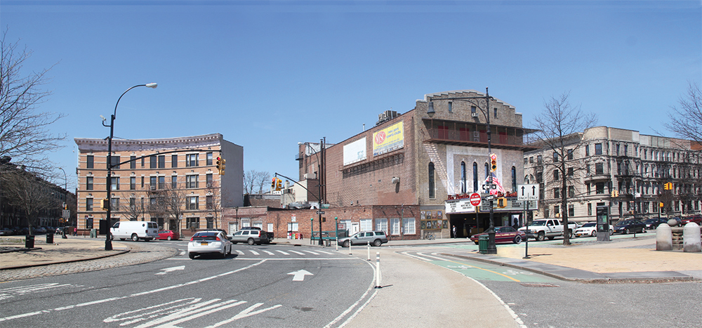 The Pavilion cinema site, currently.