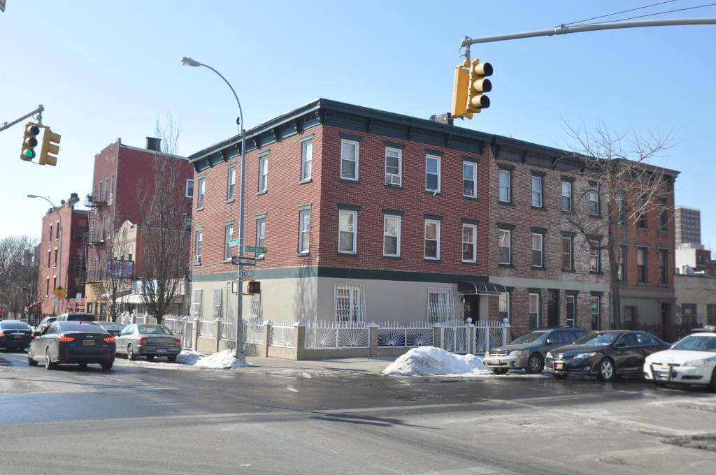 196 Montrose Avenue in February 2015, photo by Christopher Bride for PropertyShark