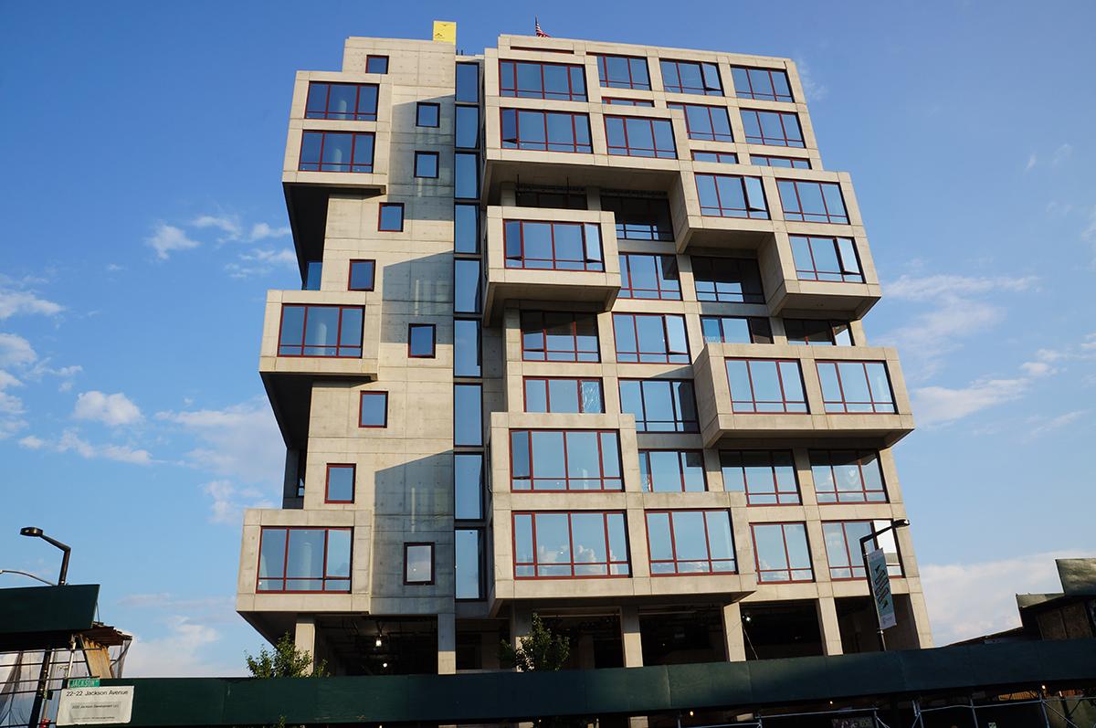 22-22 Jackson Avenue facade