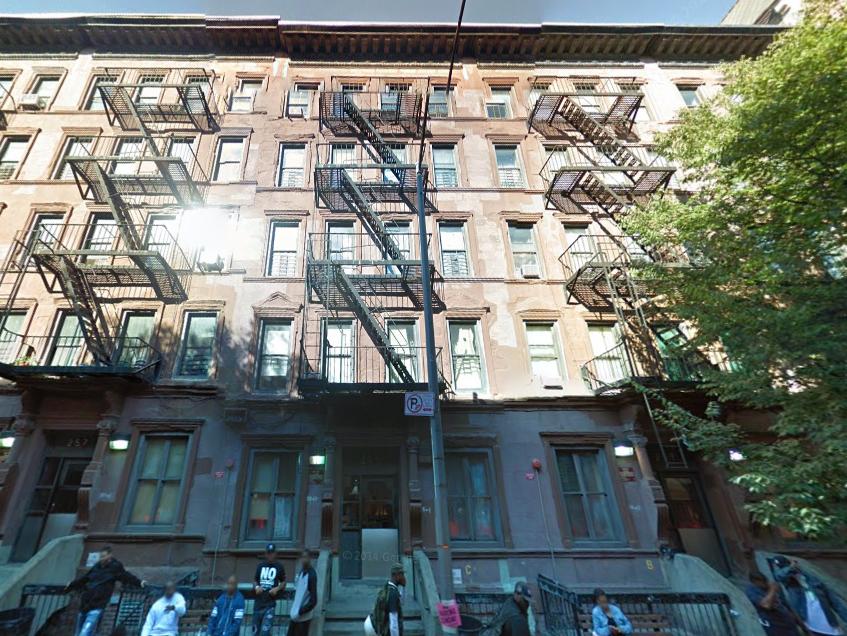 257 West 114th Street, image via Google Maps