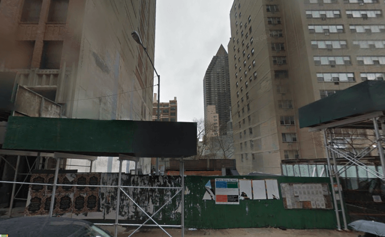 315 East 46th Street in December 2014, image via Google Maps