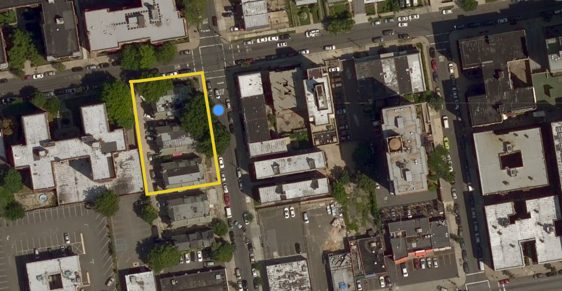 35-08 146th Street in Murray Hill, Queens, image via Bing Maps