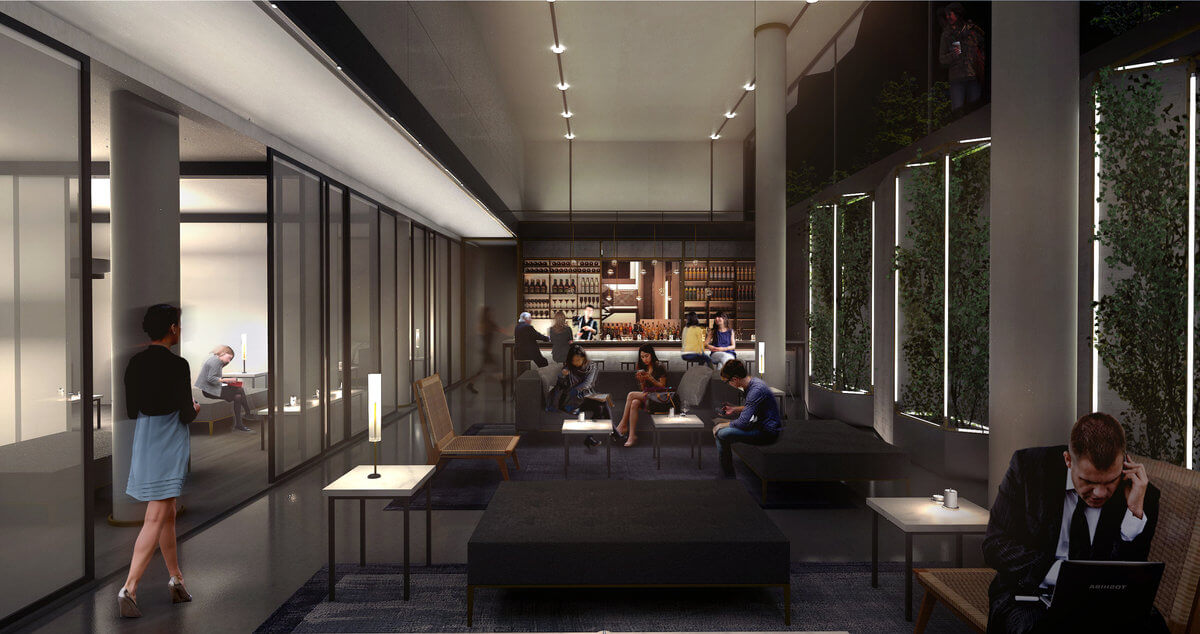 38-04 11th Street, rendering by Gradient Architecture Studio