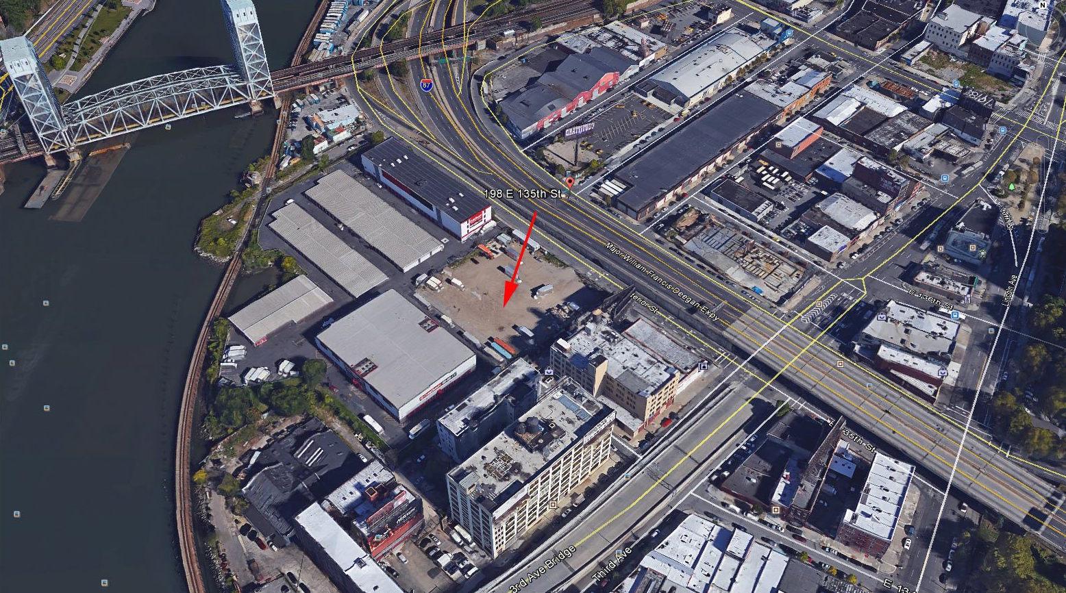 198 East 135th Street, image via