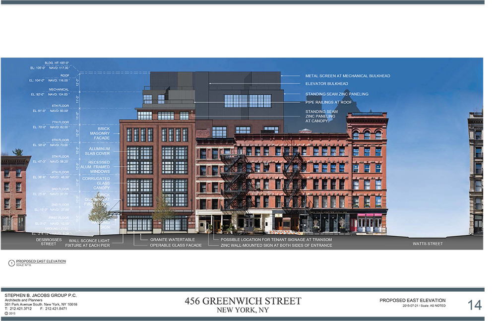 1445 - 456 Greenwich Street - Final LPC Presentation_2015-07-21