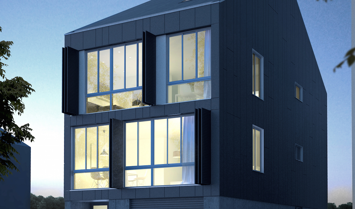 Western side of 481 Midland Avenue, rendering by AB Architekten
