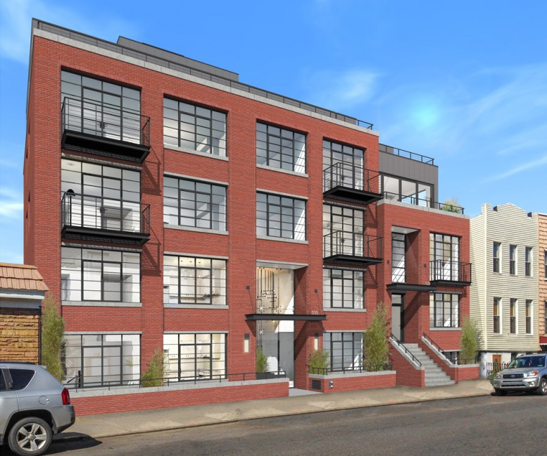 535 Lorimer Street, rendering by RG Architecture